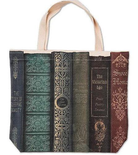 Book Title Tote Bag