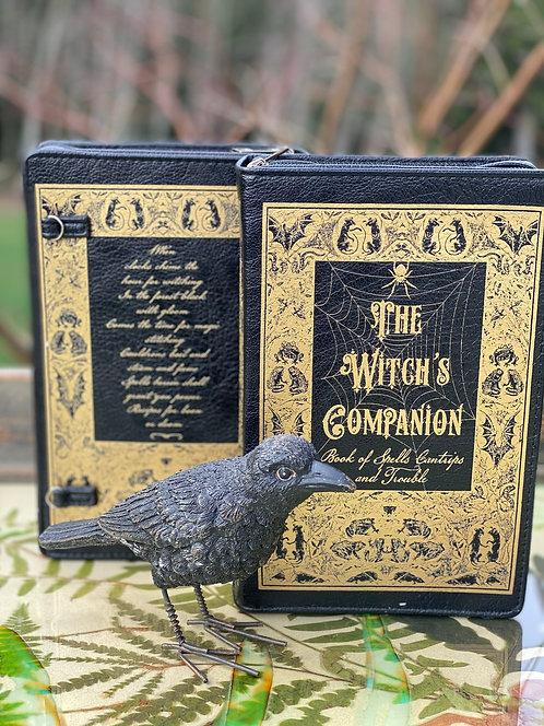 Witch's Companion Book Purse