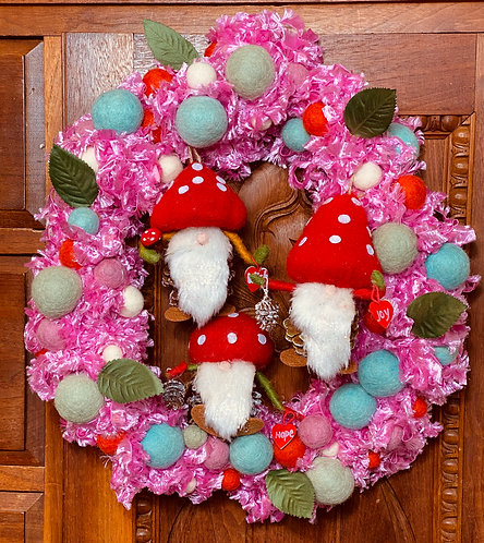 Forest Gnome Wreath Kit