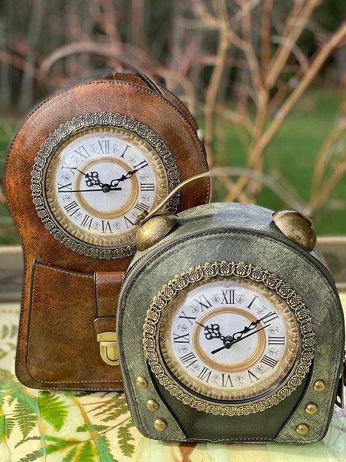 Standing Clock Purse