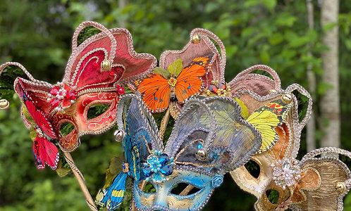 Butterfly Stick Mask