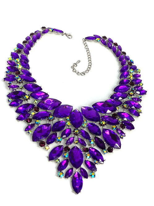 Purple Gem Necklace