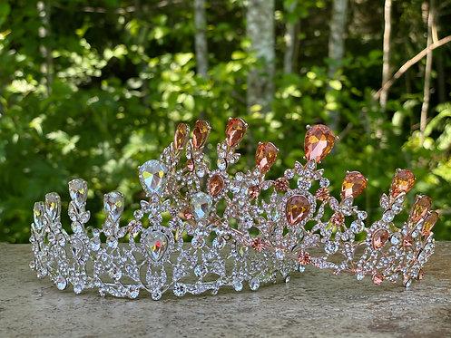 Elegant Crystal Tiara