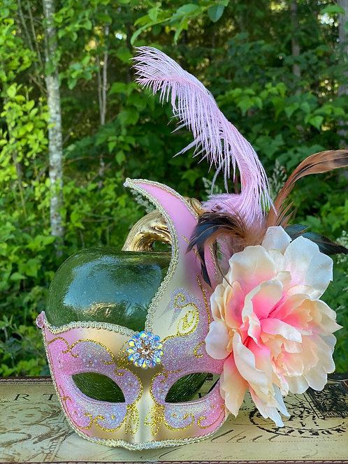 Pink Swan Mask