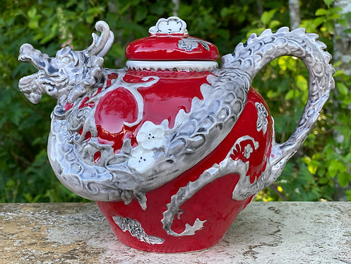 Ceramic Dragon Tea Pot