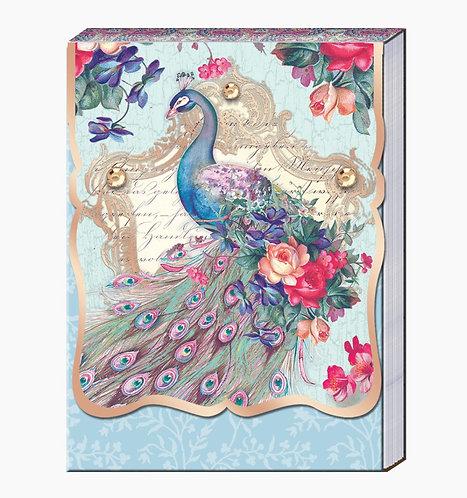 Pocket Peacock Notepad