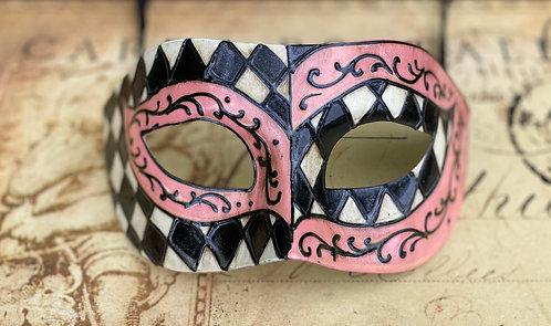Harlequin Pink Mask