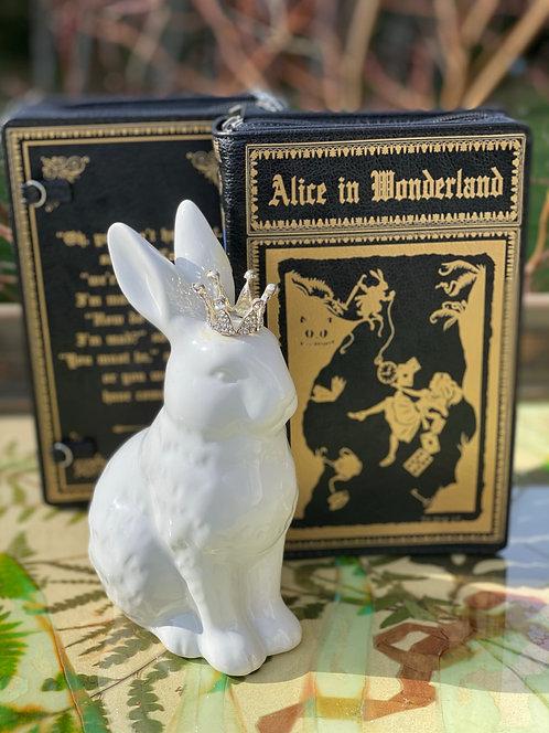 Wonderland Book Purse