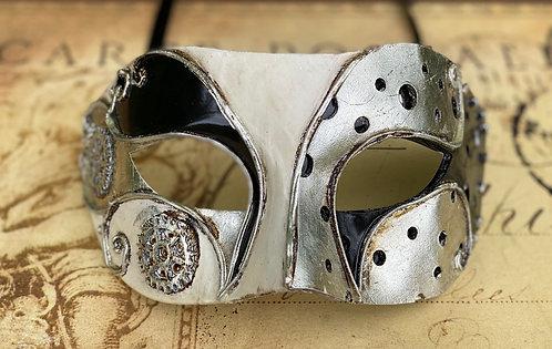 Steampunk Metallic Gear Mask