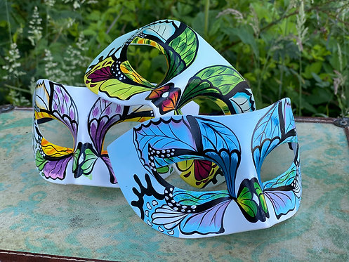 Painted Butterfly Mask