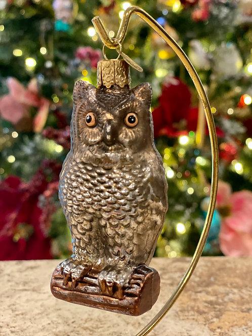 Old World Christmas Owl Ornament