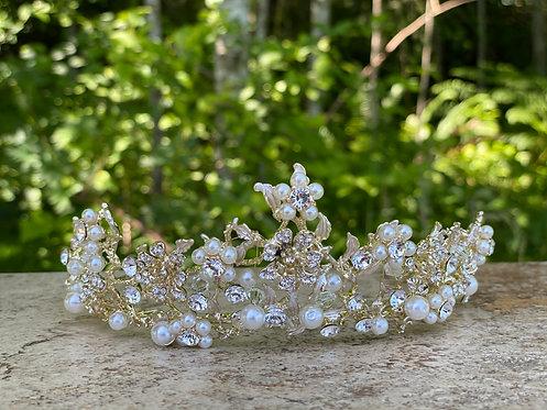 Pearl Garden Tiara