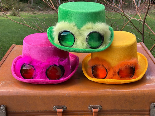 Party Top Hat w/Goggles