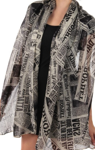 The Daily Prophet Scarf