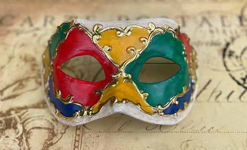Columbine Carousel Mask