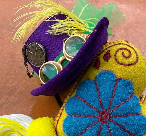 Colorful Steampunk Headband