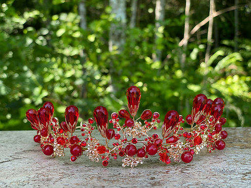 Berry Branch Tiara