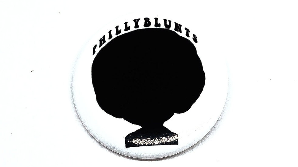 """Afro Philly"" Pin"