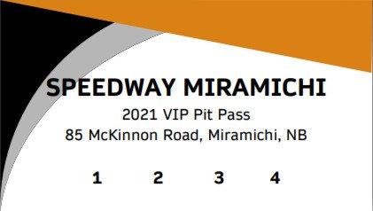 2021 VIP 4 Race Flex Pass - Pits