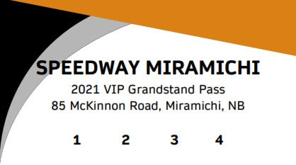 2021 VIP 4 Race Flex Pass - Grandstand