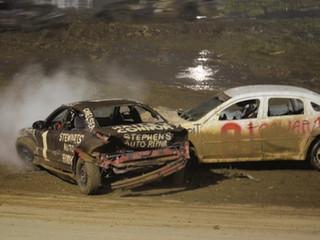 Wild & Crazy Crash for Cash Saturday in Miramichi!