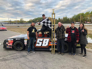 Power The Victor in Street Stock 100, Basque Captures Demolition Blowout