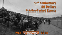 2018 Season Passes Special Offer - 50th Anniversary, 50 Dollars!