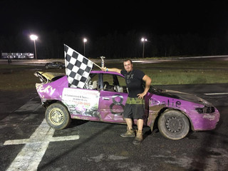 Benoit Wins Wet and Wild Backwards Bash; Racing Features Washed Out!