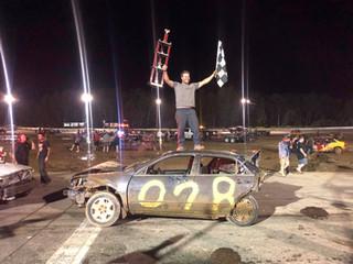 Breau Survives for Crash for Cash Victory!