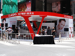 Clarins Pop-up Store @ World Trade Centre