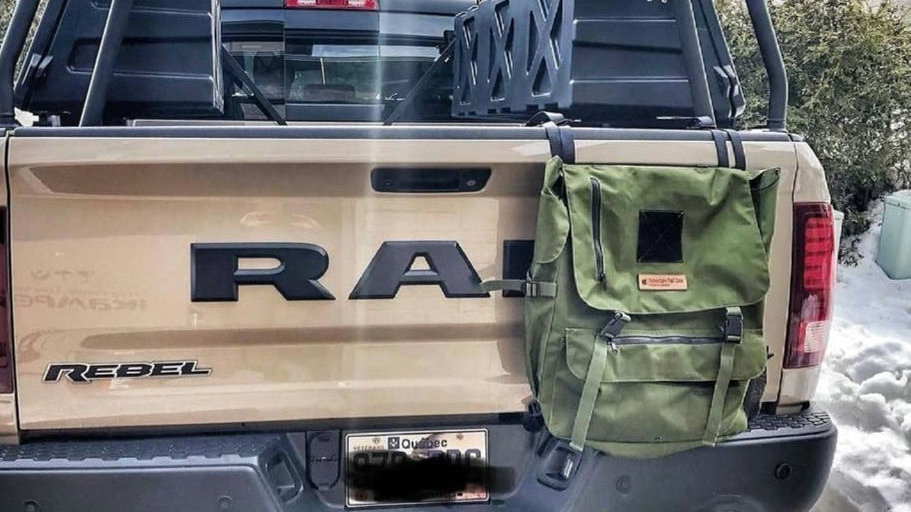 Tailgate/Spare Tire Bag - New Straps - Small Size