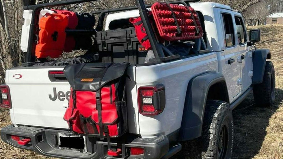 Rugged Tailgate/Small Spare Tire Bag