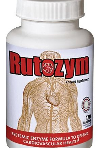 Rutozym Systemic Enzymes 120 Capsules