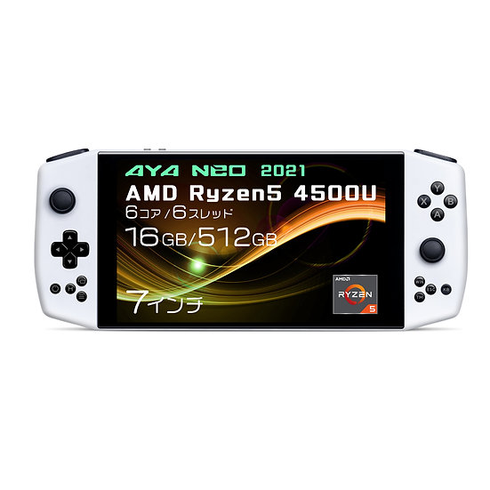 AYA NEO 2021 国内正規版 ポータブルゲーミングノートパソコン(Ryzen5 4500U/16GB/512GB/1TB)※先行予約
