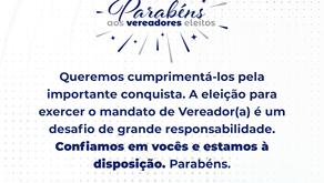 Policiais Civis são eleitos vereadores em cidades do Estado de Minas
