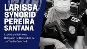 ESCRIVÃ NOTA 10 - LARISSA SYNGRID