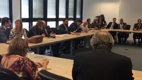 SINDEP/MG se reúne com Administração Superior da PCMG e entidades de classe