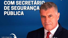 ENTIDADES DE CLASSE DA BASE REÚNEM COM SECRETÁRIO DE ESTADO PARA APRESENTAR REIVINDICAÇÕES DA CATEGO
