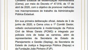 MODERNIZAÇÃO DA POLÍCIA CIVIL: A Chefia  abre debate sobre nova Lei Orgânica.
