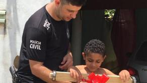 Escrivão de Polícia atua em projeto social em Rio Pardo de Minas