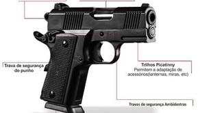 Policiais Civis têm autorização para o uso pessoal de arma 9mm