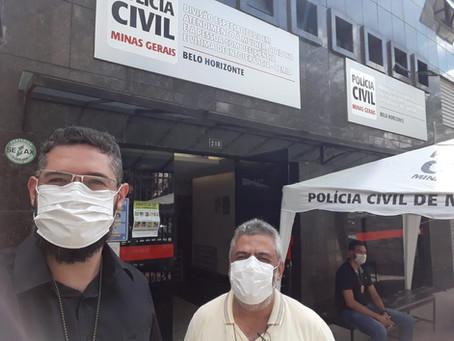 SINDEP/MG INSPECIONA DELEGACIAS E DENUNCIA A INSUFICIÊNCIA DE RECURSOS