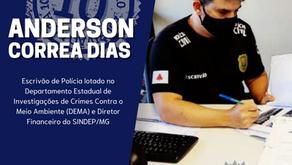 A SOCIEDADE MINEIRA SE ORGULHA DE PROFISSIONAIS COMO O ESCRIVÃO ANDERSON