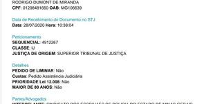SINDEP/MG aciona STJ e protocola interpelação judicial contra Zema