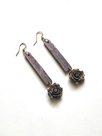 Grandiflora's Rose Earrings