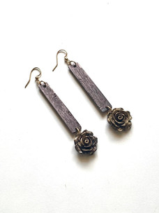 Grandiflora's Rose Earrings
