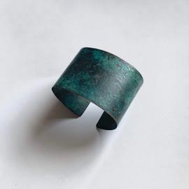 Turquoise Patina Cuff Bracelet