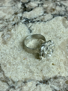 Silver Lining Rose City Ring