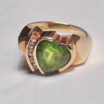 Heart of Gold Custom Piece