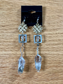 Crystal Falls Chandelier Earrings